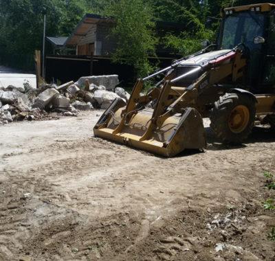 Подготовительные работы и демонтаж, Краснолесье